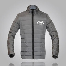 Arai brand winter jacket Parker men autumn and warm Slim mens casual printing S-3XL