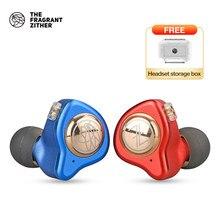 Écouteurs hi-fi TFZ/ KING II, oreillettes filaires stéréo intra-auriculaires avec isolation du bruit, pour téléphone portable Android, 3.5mm