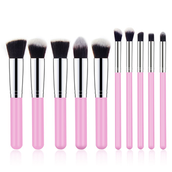 10Pcs Makeup Brushes kit Cosmetic Eye Face Powder Foundation Brushes Tool eyeliner Concealer Brushes Cosmetic Make up Brushes 1