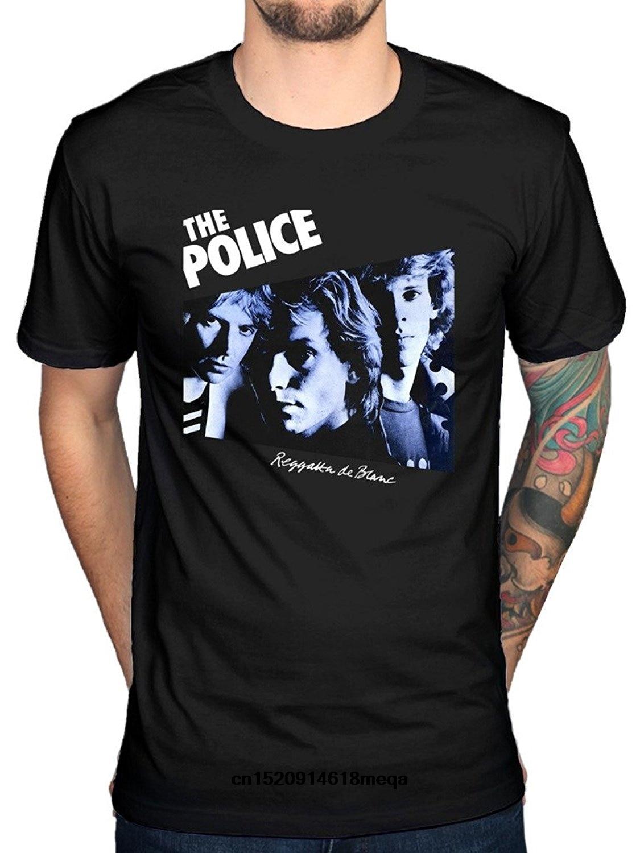 *NEW* THE POLICE BLUE T SHIRT REGATTA DE BLANC BAND PRINT XL 14 STING