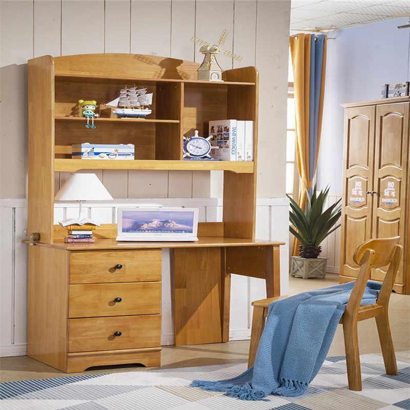Solid Wood Kids Children Bedroom Set Study Desk Aliexpress