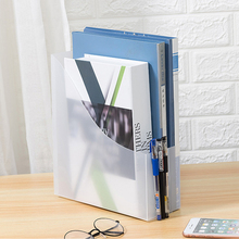 Magazine File Holder Sturdy Plastic Magazine Organizer  Document File Letter Book Brochure Shelf Carrier The New Storage Holder