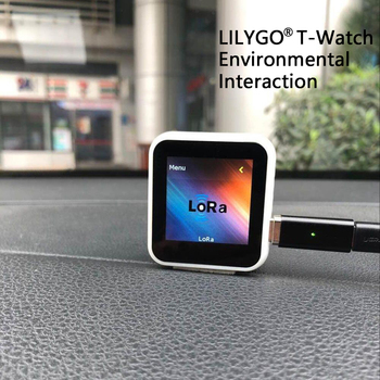 TTGO T-Watch ESP32 GPS And Lora Development Kit Programmable Wearable Environmental Interaction WiFi Bluetooth Capacitive Touch