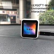 TTGO t watch ESP32 GPS i Lora zestaw deweloperski programowalny poręczny interakcja środowiskowa WiFi Bluetooth pojemnościowy dotyk