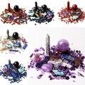 1 Набор  смешанный натуральный кристалл  обелиск  шар  палочка  сердце  гравий  минералы  образец  рейки  исцеление  домашняя декоративная ста...