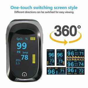 Image 1 - Medical original Fingertip Pulse Oximeter De Dedo Pulso Blood Oxygen Saturation Monitor Finger Pulse Oxygen Heart Rate Meter