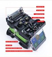 Free Shipping FTTX Fiber Optical Welder Machine Komshine FX37 Optical Fiber Fusion Splicer Kit with FIS Stripper Kevlar Shears