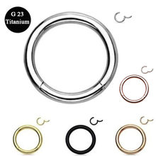 Seamless Hinged Segment Sleeper Clicker Ring Hoop Ear Lip Nose Septum Piercing Earring Bohemian Wedding Ear Clip Jewelry Gifts(China)