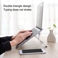 Portable Folding Aluminum Notebook Laptop Cooling Holder Desktop Anti slip Stand Holder for MacBook Air Pro Stand