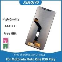 Pantalla táctil LCD P30 Play de 5,9 pulgadas para Motorola Moto, montaje de XT1941-1, XT1941-3, con Marco, XT1941-4