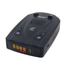 Karadar G820STR wykrywacz radarów s GPS wykrywacz radarów LED 2 w 1 dla rosji z samochodowymi radarami prędkość policji Auto X CT K La