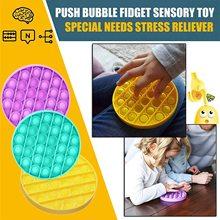Toy Fidget-Toy Bubble It-Figit Push-Pop Needs-Stress Sensory-Toy Autism Squeeze Special