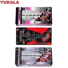 7.4 v 7.6 v 4000 mah/5000 mah/5600 mah/6000 mah 2 s baixo perfil hardcase super shorty hv lipo bateria 4.0mm deans plug para rc carro