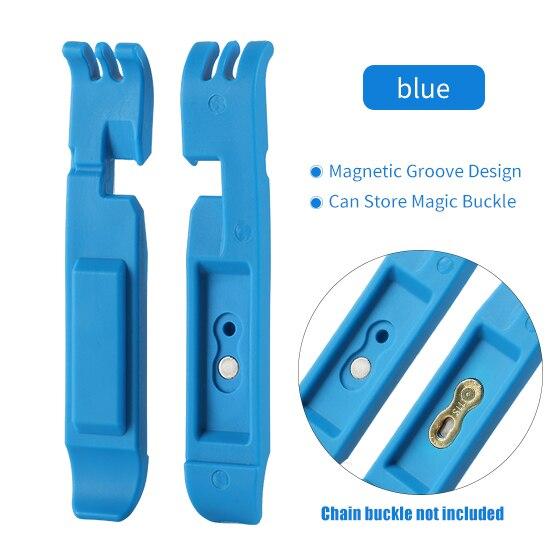 WEST BIKING, отсутствующий рычаг, MTB, велосипедная цепь, инструменты, волшебная Пряжка, инструмент для ремонта, инструмент для удаления велосипеда, мастер-звено, плоскогубцы, инструмент для ремонта велосипеда - Цвет: Blue no chain