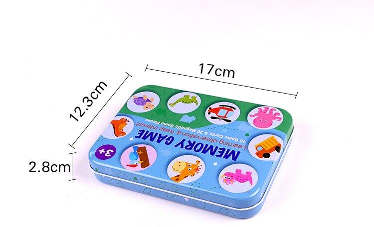 jogo de tabuleiro cor educacional capacidade cognitiva brinquedo para crianças