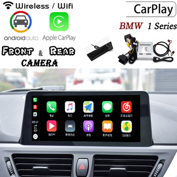 Wireless Carplay box For BMW 1 Series (F20) 116i/118i 2010~2019 Rear Front camera decoder Original screen adapter Interface image
