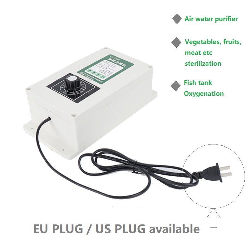 2000mg Ozone Generator (220v 8L) With Timer Vegetable Washing And Disinfecting Fruit And Vegetable Detoxification Machine