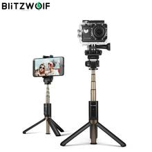 VR3 3 Trong 1 Không Dây Bluetooth Selfie Stick Tripod Đa Năng Monopod Cho GoPro 5 6 7 Camera Thể Thao Dành Cho iPhone X 8 Điện Thoại Thông Minh