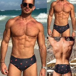Sunga moda praia masculina, sunga masculina casual, maiô sexy, moda praia, 2020