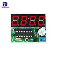 diymore AT89C2051 Digital 4 Bits Electronic Clock Electronic