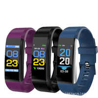 LIWM 115 Plus Smart Wristband Bracelet Blood Pressure Heart Rate Monitor Smart Wist Band Watch health monitoring exercise hand r