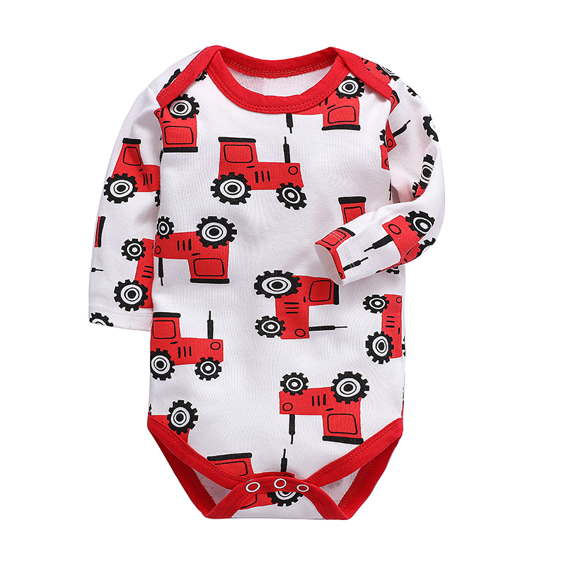 Newborn Bodysuit Baby Girls Boys Clothing Long Sleeve 3 6 9 12 18 24 Months Infant Clothes