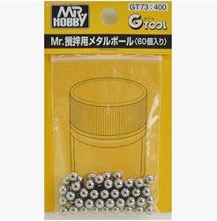 GSI Creos Mr. هواية GT-73 الكرة الصلب الخاصة (60 قطعة ، القطر: 4.77 مللي متر) لخلط الطلاء