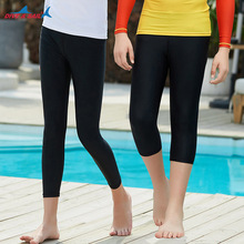 Shorts rasguard pour garçons et filles, vêtements dété de natation et de surf, respirant, séchage rapide, pantalon élastique de plongée H