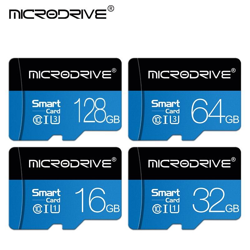 Карта Micro SD TF 32 Гб 64 Гб 128 Гб класс 10, карта флэш-памяти Microsd 8 16 32 64 128 ГБ для адаптера смартфона
