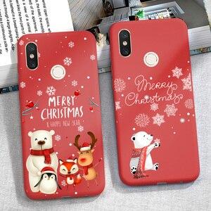 Christmas Phone Case Redmi 9A 7A 8A 6A 5 Plus Cover FOR Xiaomi Redmi Note 8 PRO 8T 9S 9 S 9 PRO 8 T 7 Mi A3 Note 10 Lite Funda