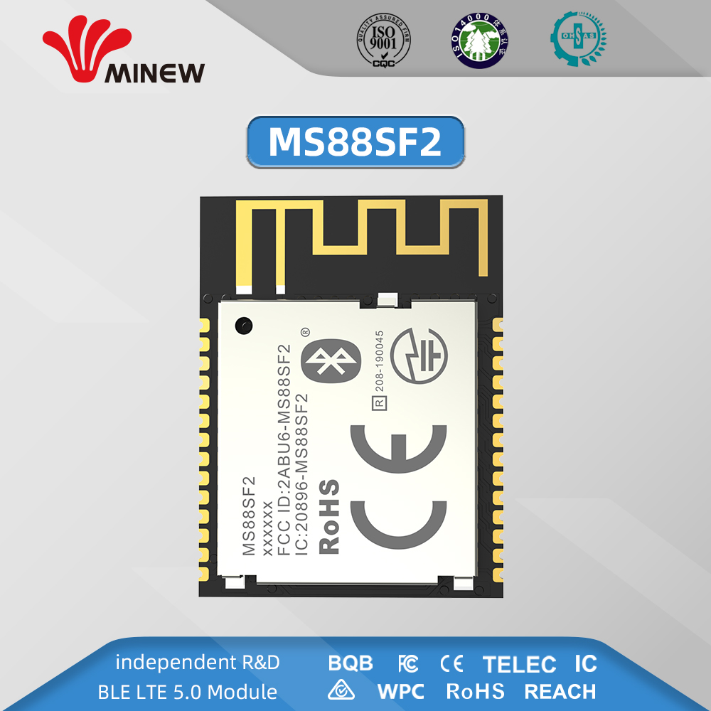 New Mesh Multiprotocol NRF52840 RF Module 2.4ghz Long Distance Wireless Transceiver MS88SF2 Transmitter Receiver Ble 5.0 Modules