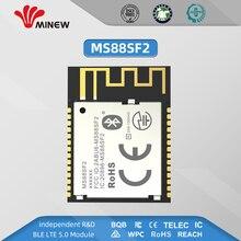 חדש רשת ריבוי nRF52840 RF מודול 2.4ghz למרחקים ארוכים אלחוטי משדר MS88SF2 משדר מקלט Ble 5.0 מודולים