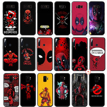 Deadpool Marvel Dead pool Weiche Silikon Fall für Samsung Galaxy A50 A70 A60 A40 A30 A20 A10 M10 M20 M30 m40 Abdeckung(China)