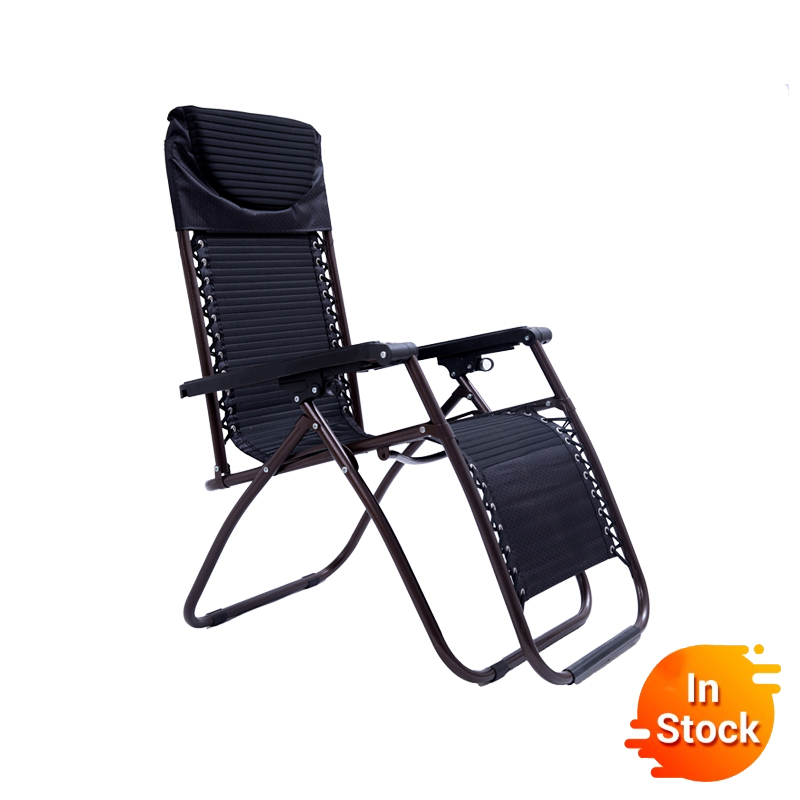Delivery Normal Deck Chair Home Office Fishing Chair Metal Modern Beach Chairs Folding Bed Siesta Bed Simple Siesta Couch Chair