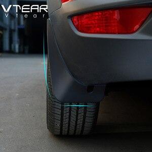 Image 1 - Vtear Für Mazda CX 3 CX3 2020 2019 2018 fender flares schlamm klappen Kotflügel Außen Teile produkte abdeckung Zubehör/gummi