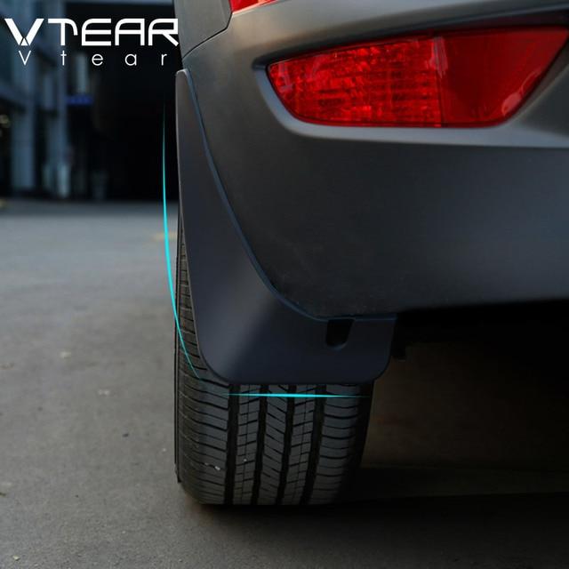 Vtear Für Mazda CX 3 CX3 2020 2019 2018 fender flares schlamm klappen Kotflügel Außen Teile produkte abdeckung Zubehör/gummi
