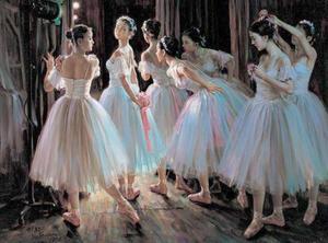 Image 5 - Collants de balé adulto 2020 nova alta qualidade prática confortável dança traje ginástica adulto azul marinho collant ballet