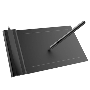 Drawing Tablet VEIKK S640 Graphic Board Ultra-Thin 6x4-inch Pen Tablet with 8192 Levels Passive Pen