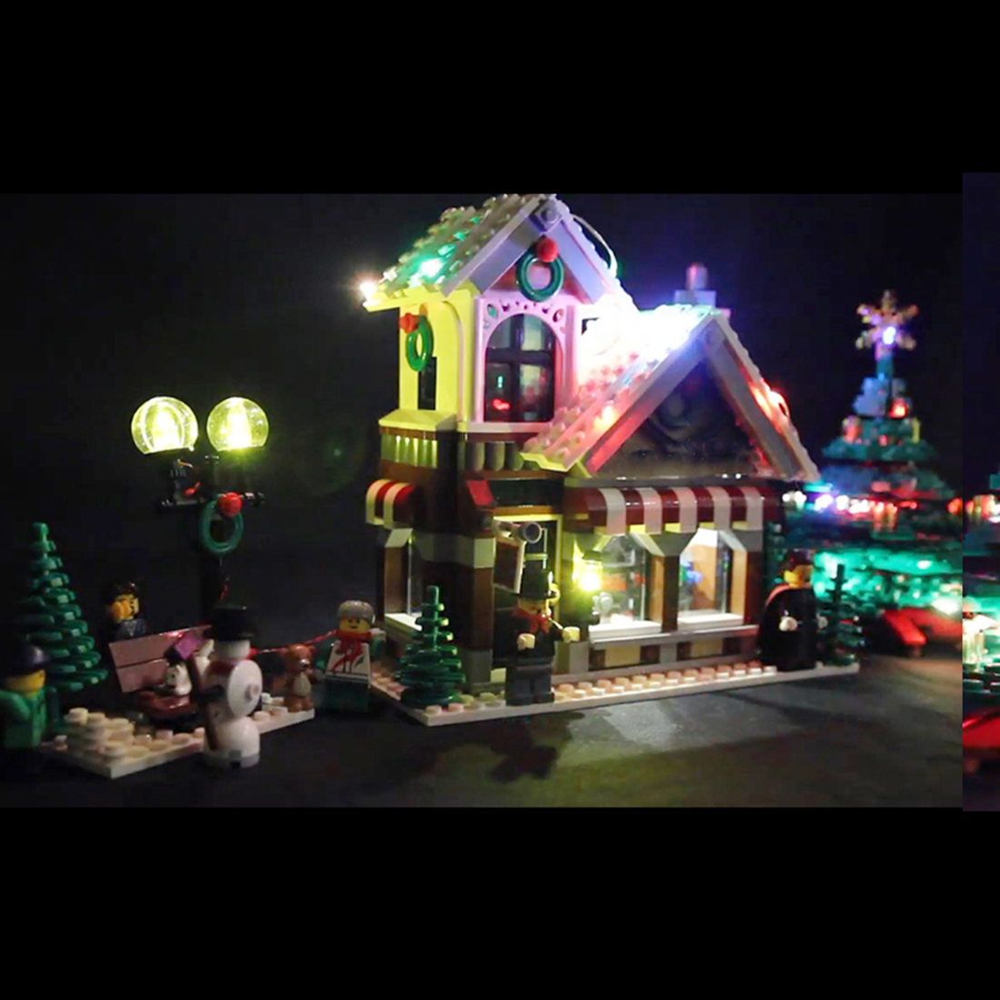 Ce6f80 Buy Christmas Village Lights Battery And Get Free