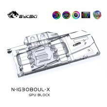 Graphics-Card Water-Cooling-Block N-IG3080UL-X Geforce Rtx GPU Bykski VGA Igame 10G Ultra-Oc