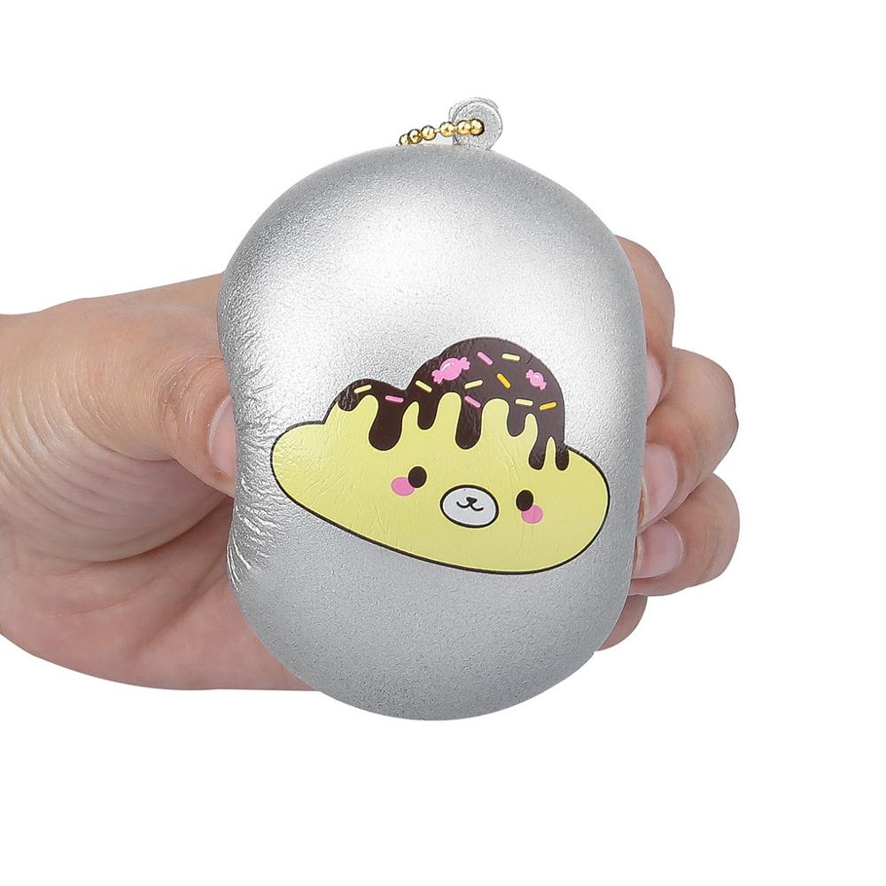 Stress Ball Squishy Slow Rising Toy Stress Soft Squeeze Toys For Children Slow Rising Relieves Antistress Anxiety Kids Toys @A