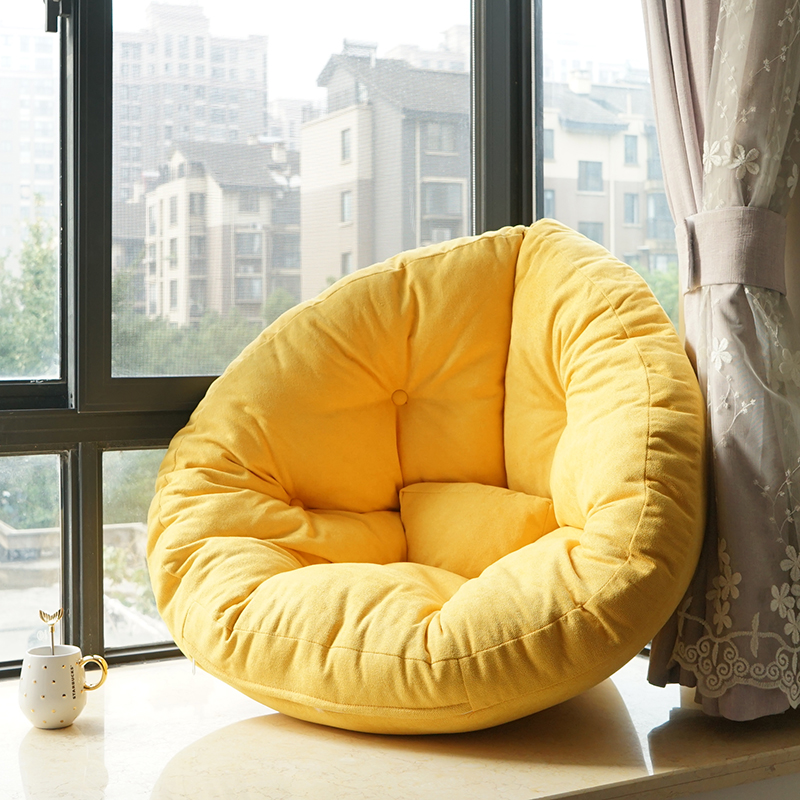Leisure Lazy Couch Tatami Small Apartment Bedroom Cute Single Floor Small Sofa Bay Window Sofa Girl Heart|  - title=