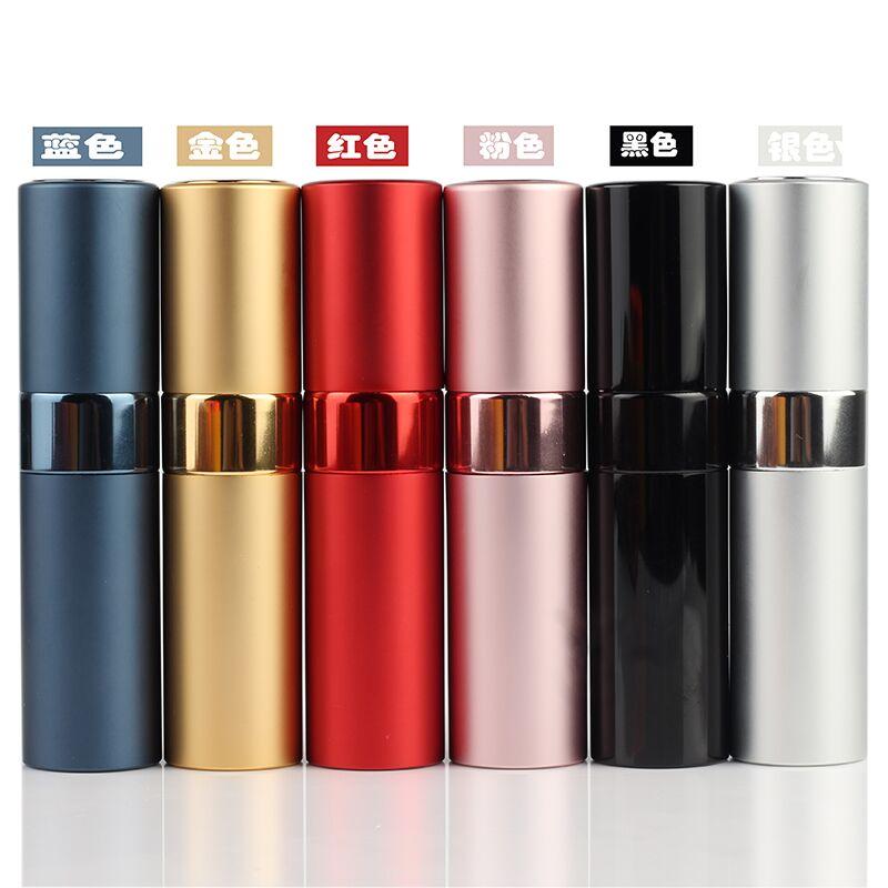 Ynzzio new style 8 20 ml metal aluminum perfume bottle cosmetic spray bottle portable empty bottle travel sub-bottle liner glass 2