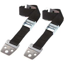 2 Pcs Adjustable Furniture Fixed Seat Belt Wardrobe TV Anti-dumping With Metal Buckle For Home Safe Tools