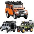 1:32 1:28 Land-Rover DEFENDER SUV Литой Сплав модель автомобиля звук и светильник обратно детская коллекция игрушек бесплатная доставка