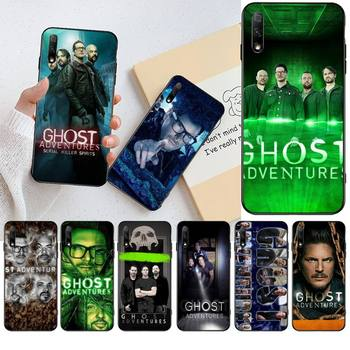 NBDRUICAI American documentary Ghost Adventures Coque Shell Phone Case for Huawei Honor 20 10 9 8 8x 8c 9x 7c 7a Lite view pro image