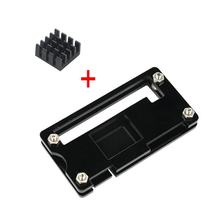 1Pcs The Acrylic Case Is Custom Designed For The Raspberry Pi Zero With A Transperant Bolted Structure(China)