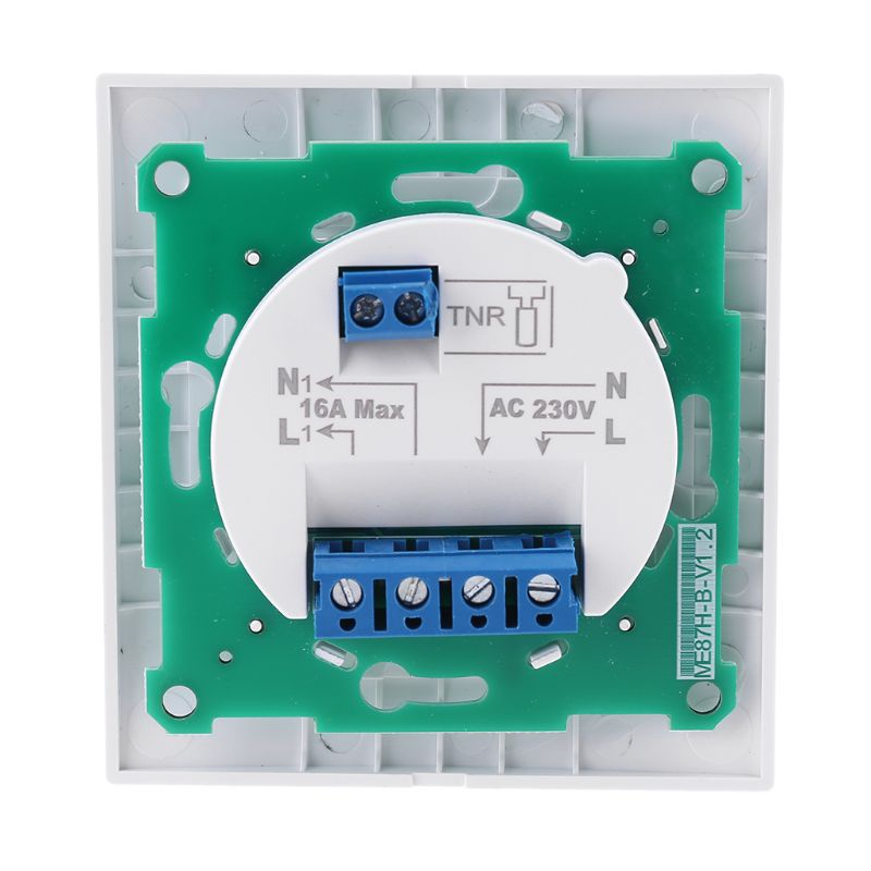 Home Floor Electric Heating Thermostat 16A AC 220-230V Temperature Controller