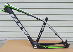 Karbon Penuh Disc Brake Matte 26er Mountain Bike Frame 16/17 Inci Melacak MTB Sepeda Bingkai