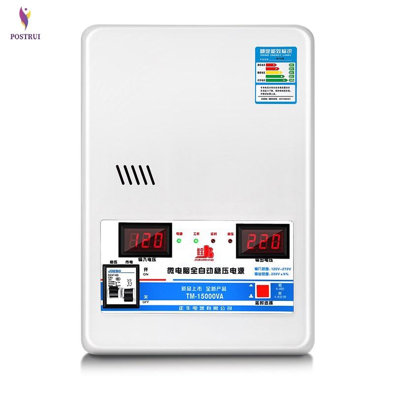 Voltage Regulators 15000W 220V Household Automatic Stabilized Power Supply Voltage Stabilizer TM-15000VA